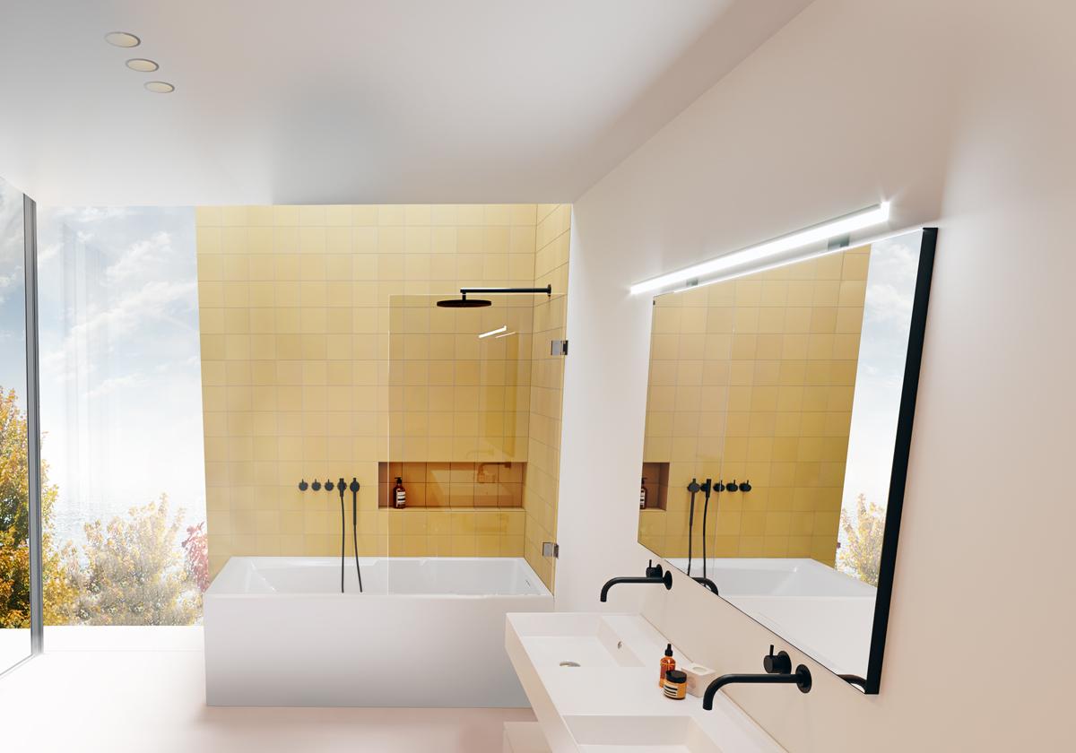 Прямоугольная ванна Riho Still Shower Elite R 180x80 без гидромассажа BD1700500000000