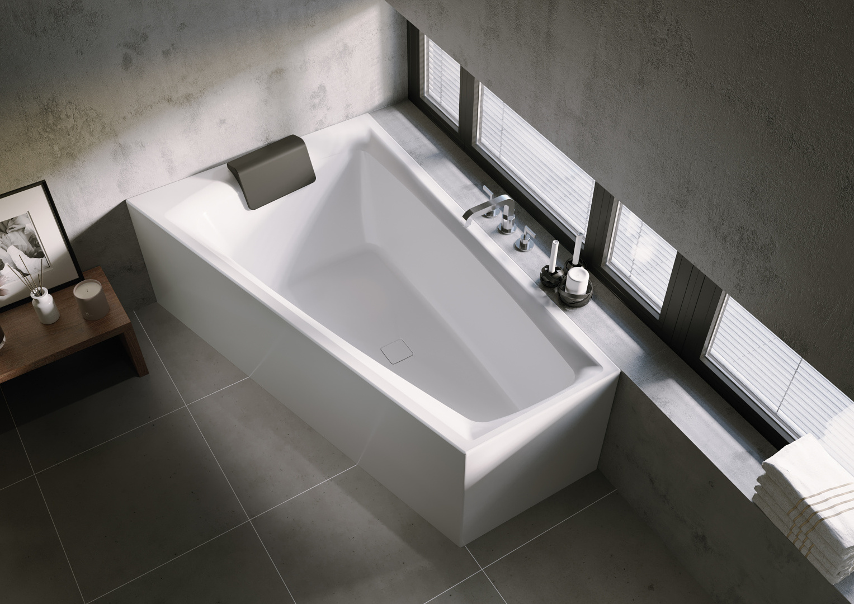 Асимметричная ванна Riho Still Smart Elite R 170x110 без гидромассажа BD1500500000000