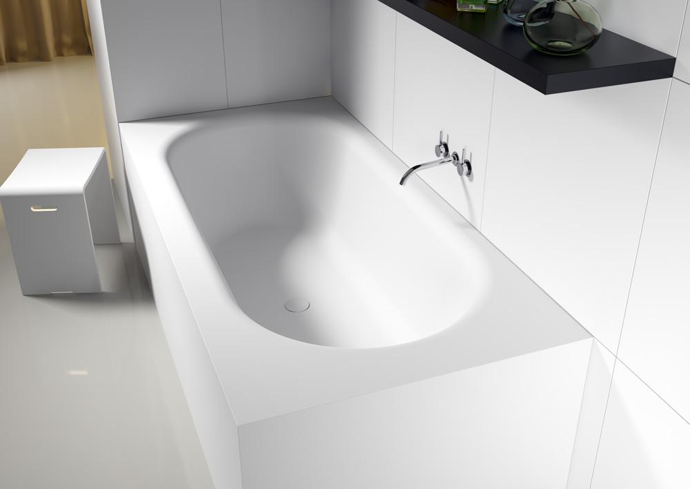 Прямоугольная ванна из искусственного камня Riho Madrid 180x86 белая BS4000500000000