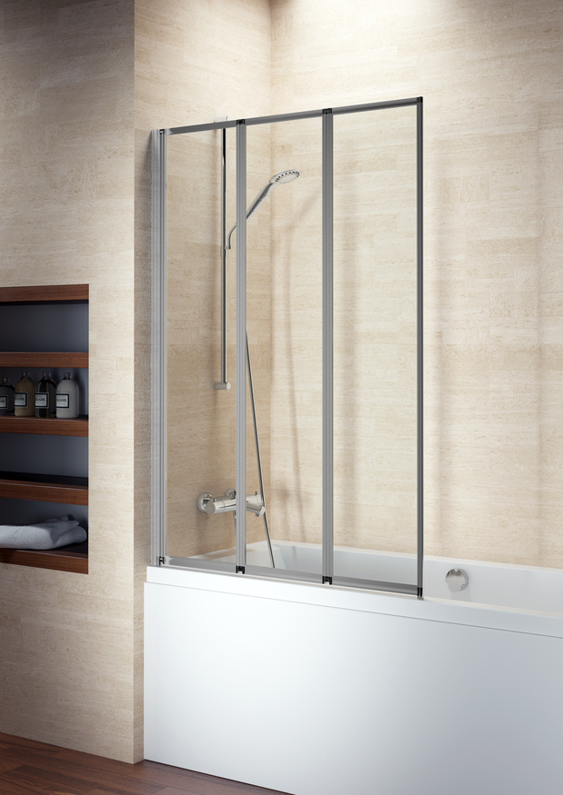 Стеклянная шторка для ванны Riho Alta 100x140 GI0100100