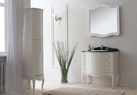 Комплект мебели для ванной комнаты Аллигатор мебель Royal 100E , зеркало