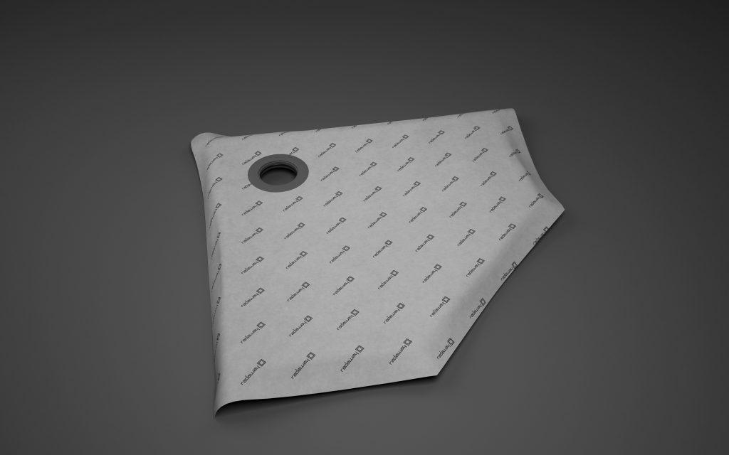 5-угольная симметричная душевая плита