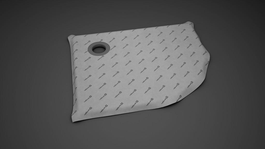 асимметричная душевая плита