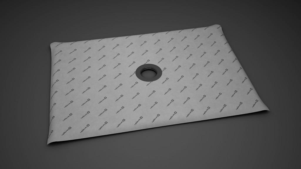 Прямоугольная душевая плита