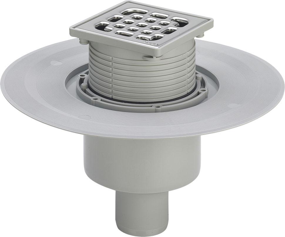 Трап для ванной комнаты Advantix, модель 4926, вертикальный выпуск