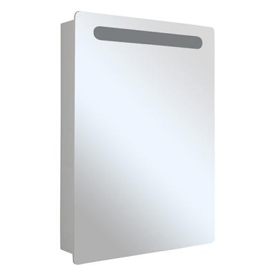 Зеркало-шкаф СТИВ-60 белый правый с подстветкой