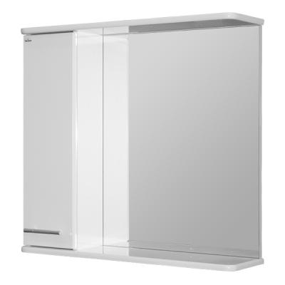 Зеркало-шкаф навесной АНРИ-75 левый ПВХ