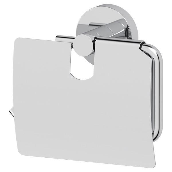 Держатель туалетной бумаги с крышкой (хром) (ARTWELLE)