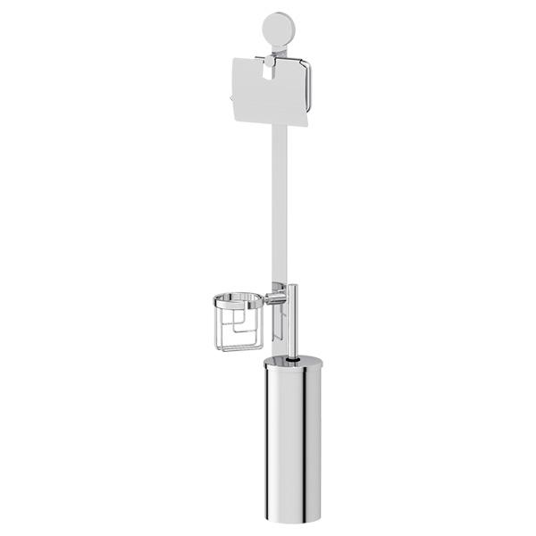 Стойка Artwelle Harmonie HAR 055 с 3-мя аксессуарами для туалета 80 cm хром
