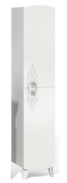 Шкаф-пенал INGENIUM Аvelin 30 белый глянец