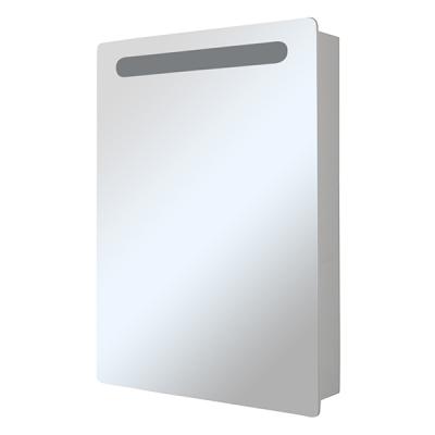 Зеркало-шкаф СТИВ-60 белый левый с подстветкой