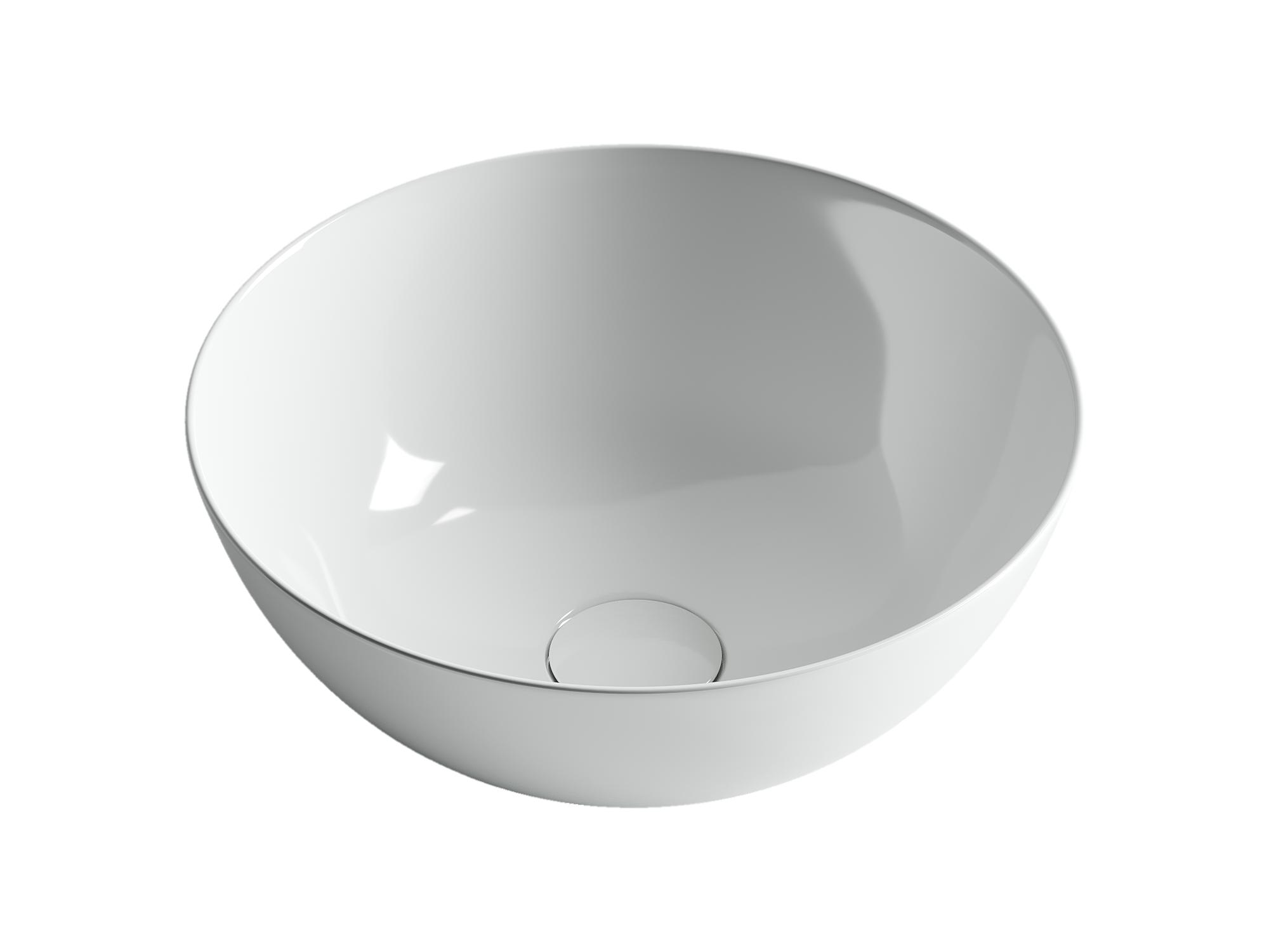 Раковина чаша накладная круглая  Element CN6002 358x358x155мм