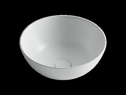 Умывальник чаша накладная круглая (цвет Белый Матовый) Element 358*358*155мм