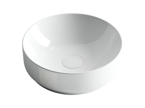 Раковина чаша накладная Ceramica Nova Element CN6005 круглая 355x355x125мм