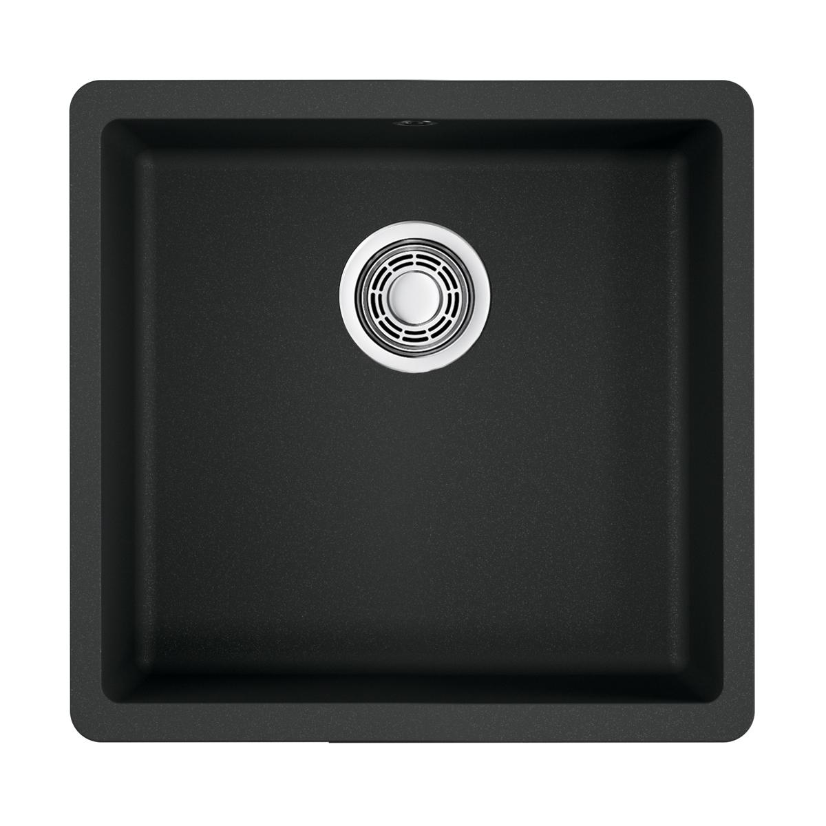 Omoikiri Kata 44-U-BL Artgranit/черный