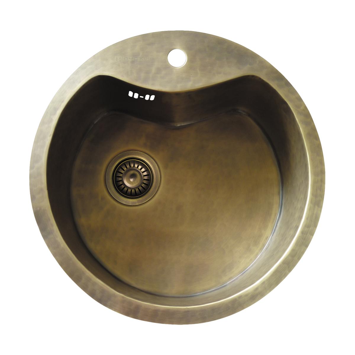 Omoikiri Sumida-51-BR нат. латунь/натуральная латунь