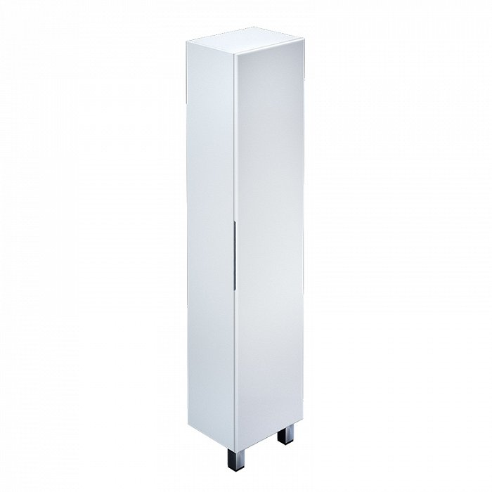 Шкаф-пенал IDDIS Custo 40 напольный белый