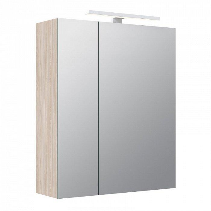 Зеркало-шкаф IDDIS Mirro 50 двухдверный