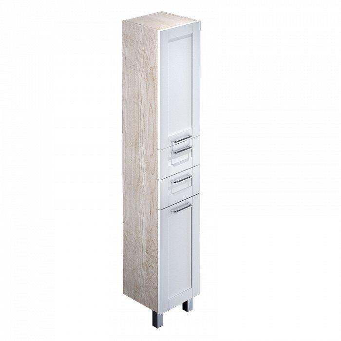 Шкаф-пенал IDDIS Sena 36 напольный белый/дерево