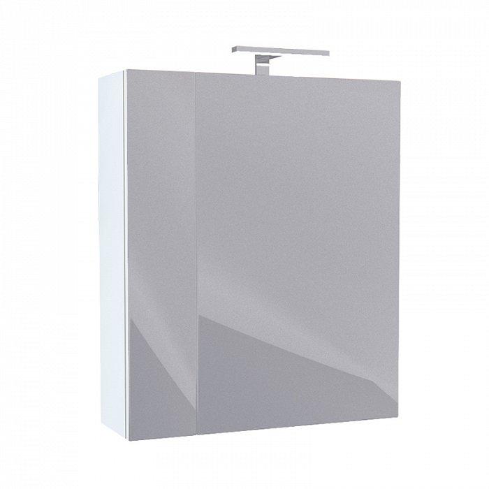 Зеркало-шкаф IDDIS New Mirro 50 двухдверный белый