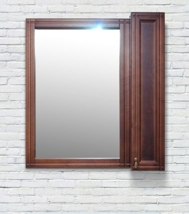 Шкаф-зеркало DELLA Mia 85 с подсветкой