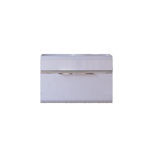 Тумба под раковину RAVAL Tetra 60 подвесная Белая/Темный лен