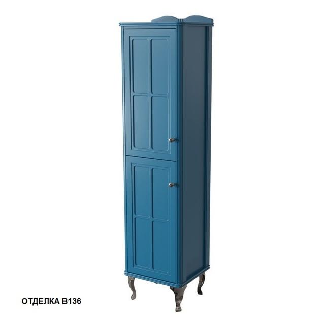 Шкаф-пенал Caprigo Borgo 40 левый, цвет B-136 blue 33450L-В136