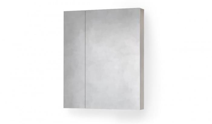 Зеркало-шкаф RAVAL Quadro-Fest 60 Белое