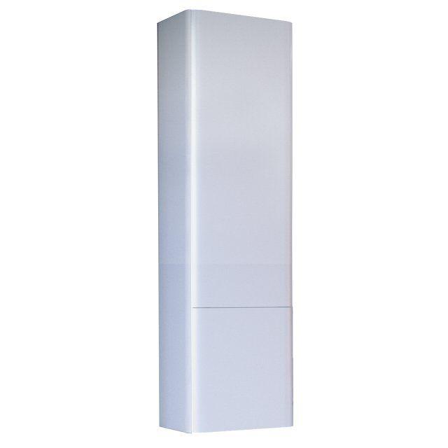 Пенал RAVAL Pure 120 белый подвесной универсальный