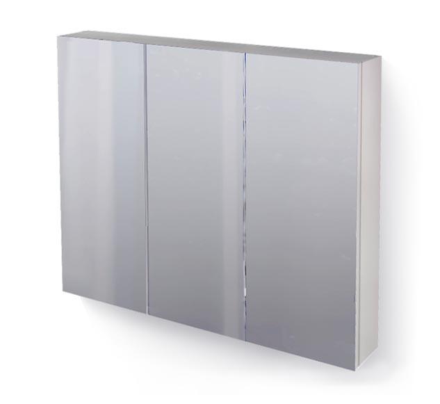 Зеркало-шкаф RAVAL Great 100 белый