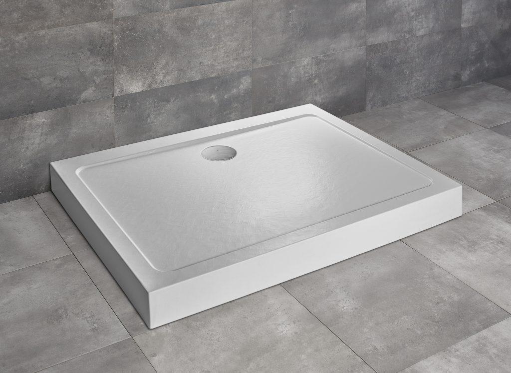 Душевой поддон Doros D Compact 90x80 Stone White