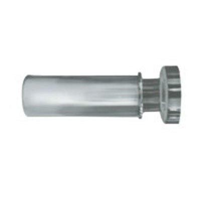 Карниз для ванной комнаты IDDIS 110-200 см матовый хром