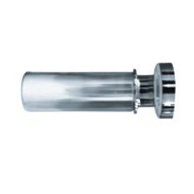 Карниз для ванной комнаты IDDIS 110-200 см глянцевый хром