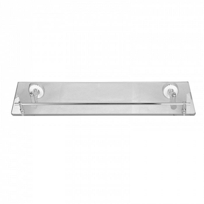 Полка IDDIS Calipso прозрачное стекло латунь