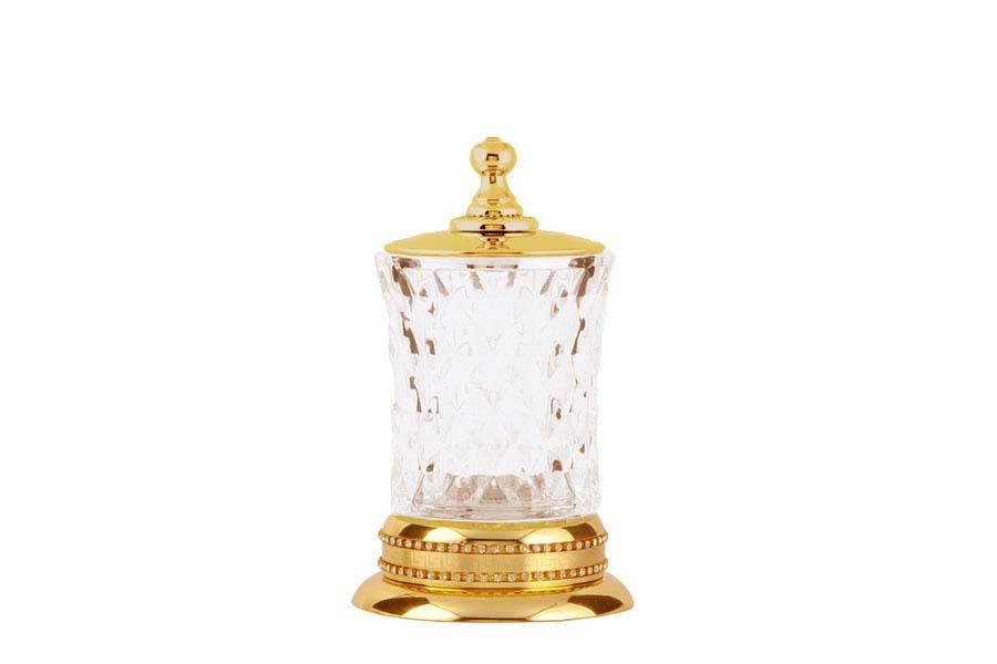Настольный стакан для ватных дисков
