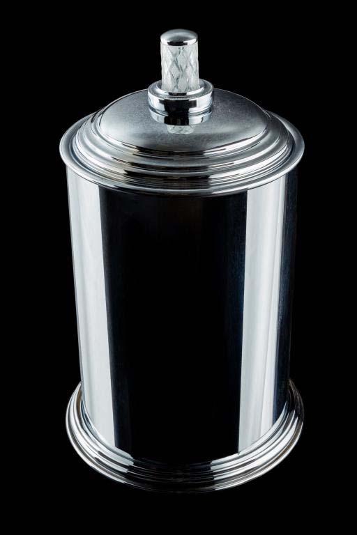 Ведро Boheme Murano Crystal 10907-CRST-CH хром