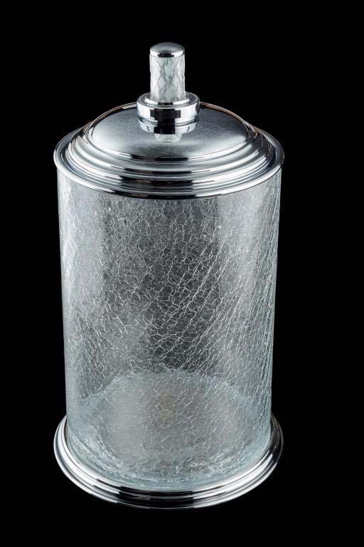 Ведро Boheme Murano Crystal 10914-CRST-CH хром / хрусталь