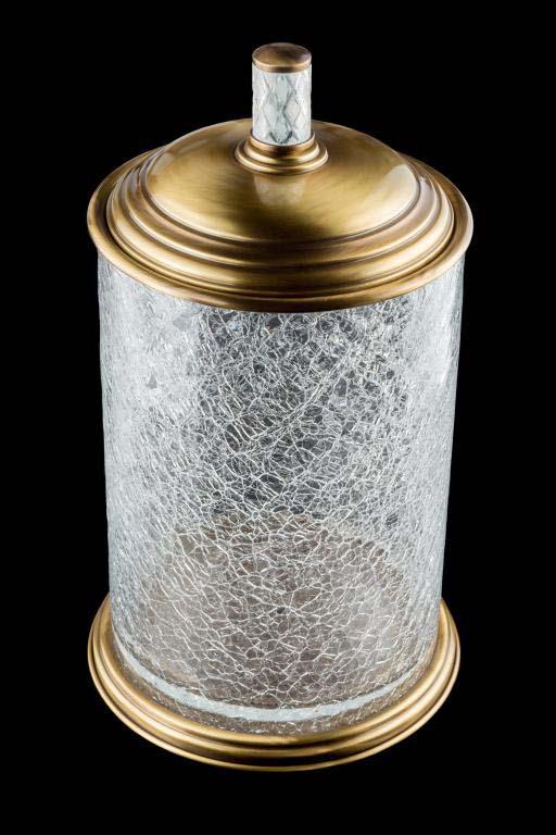 Ведро Boheme Murano Crystal 10914-CRST-BR бронза / хрусталь
