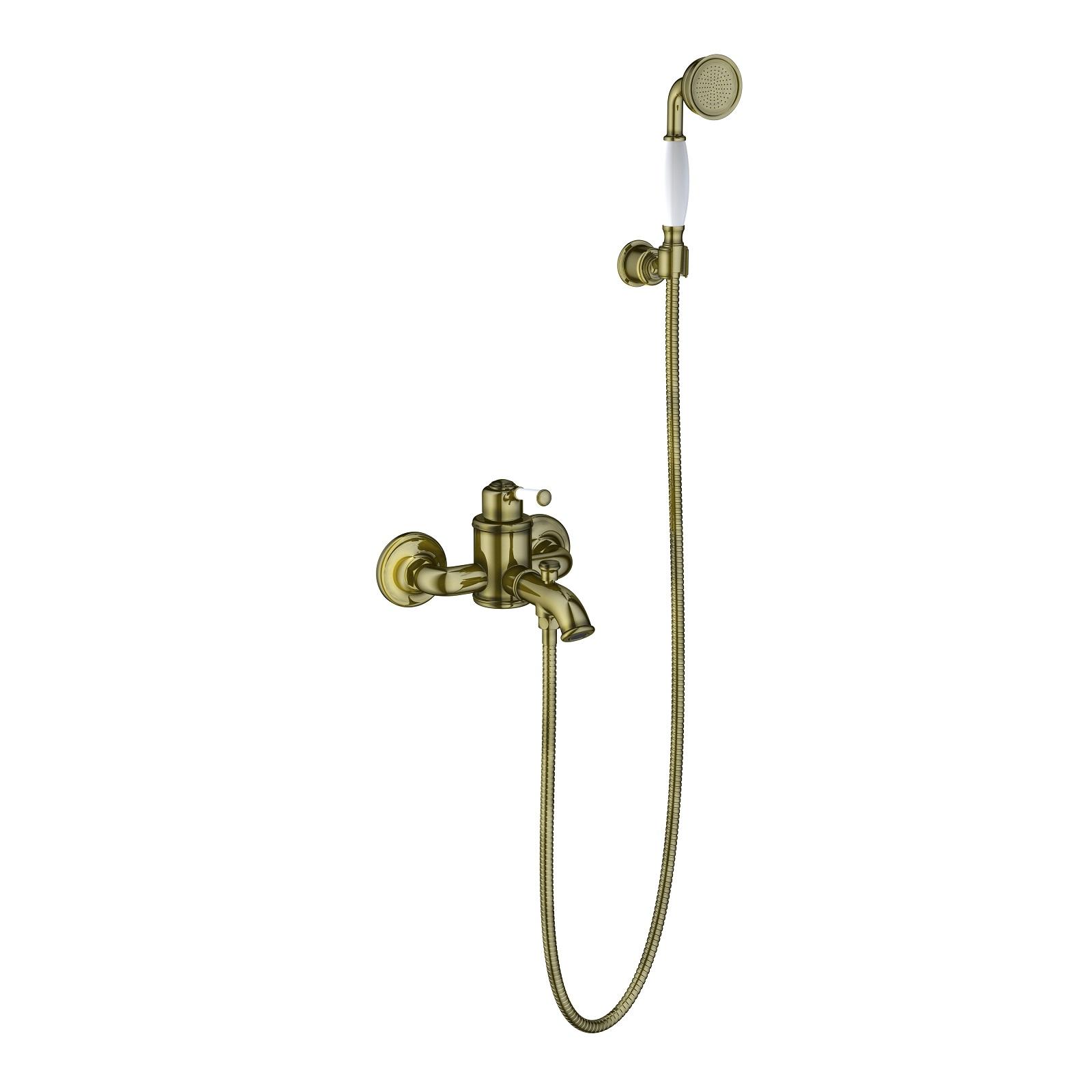 Смеситель для ванны с душем Timo Arisa 5314/02Y антик