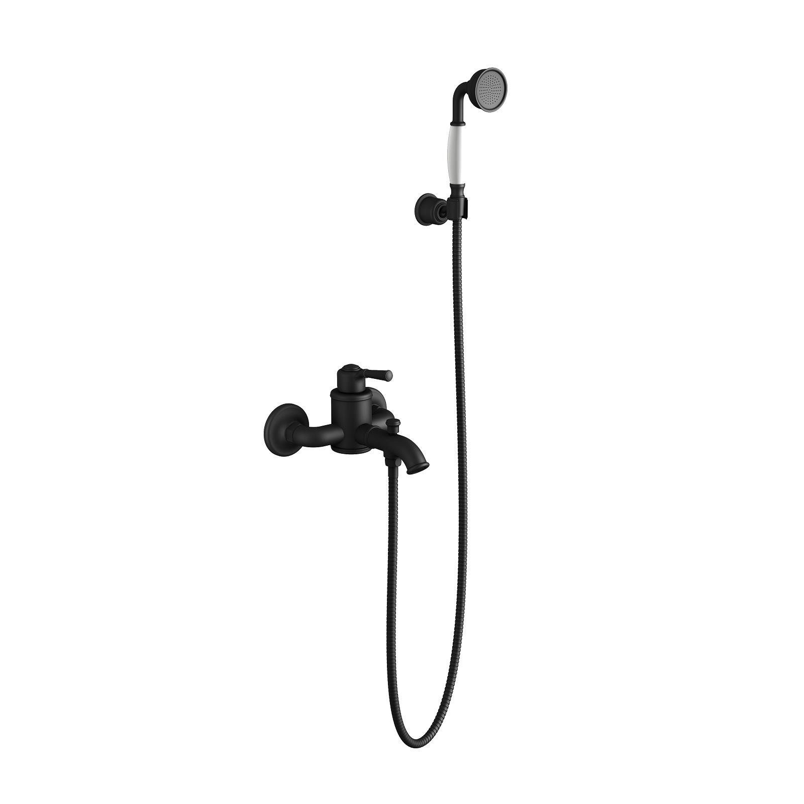 Смеситель для ванны с душем Timo Arisa 5314/03Y черный
