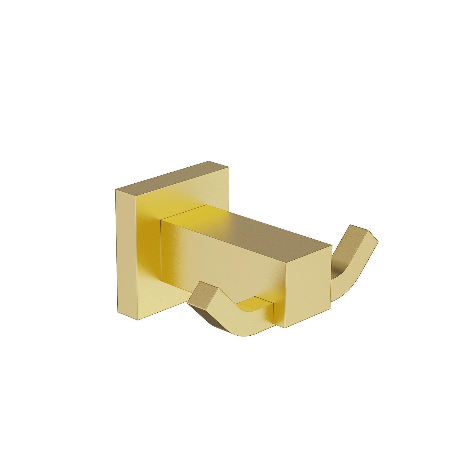 Крючок двойной Timo Selene 17012/17 золото матовое