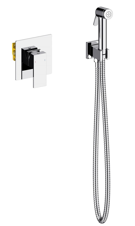 Смеситель встроенный с гигиеническим душем Timo Selene 2089/00SM хром