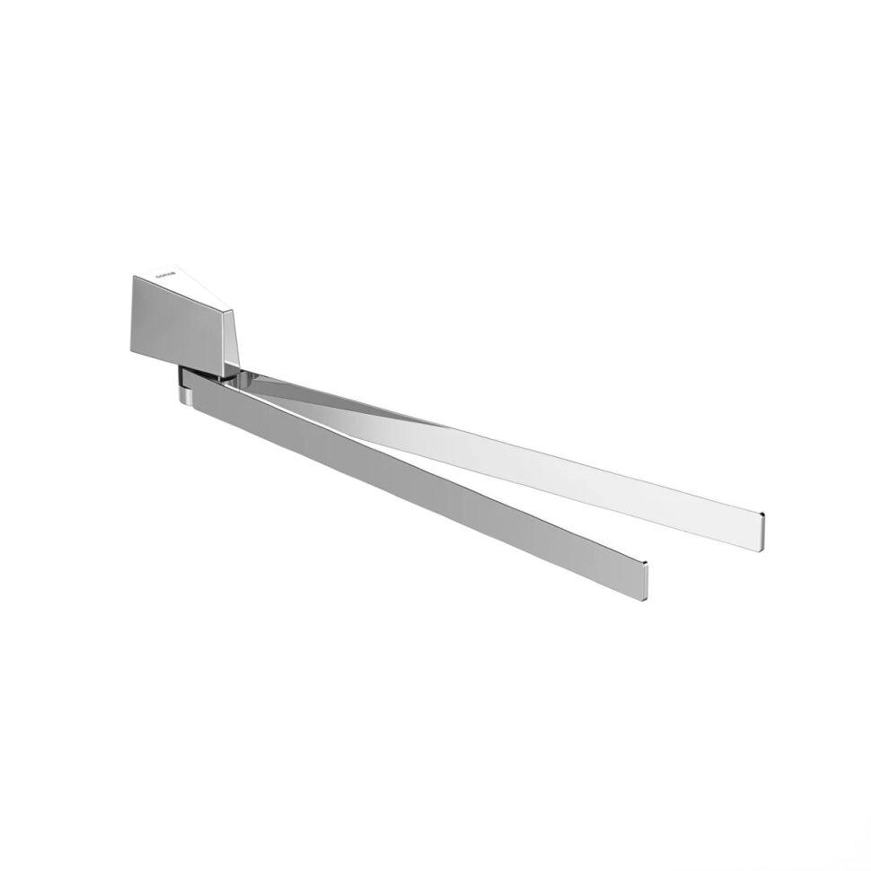 Полотенцедержатель поворотный двойной (156146)