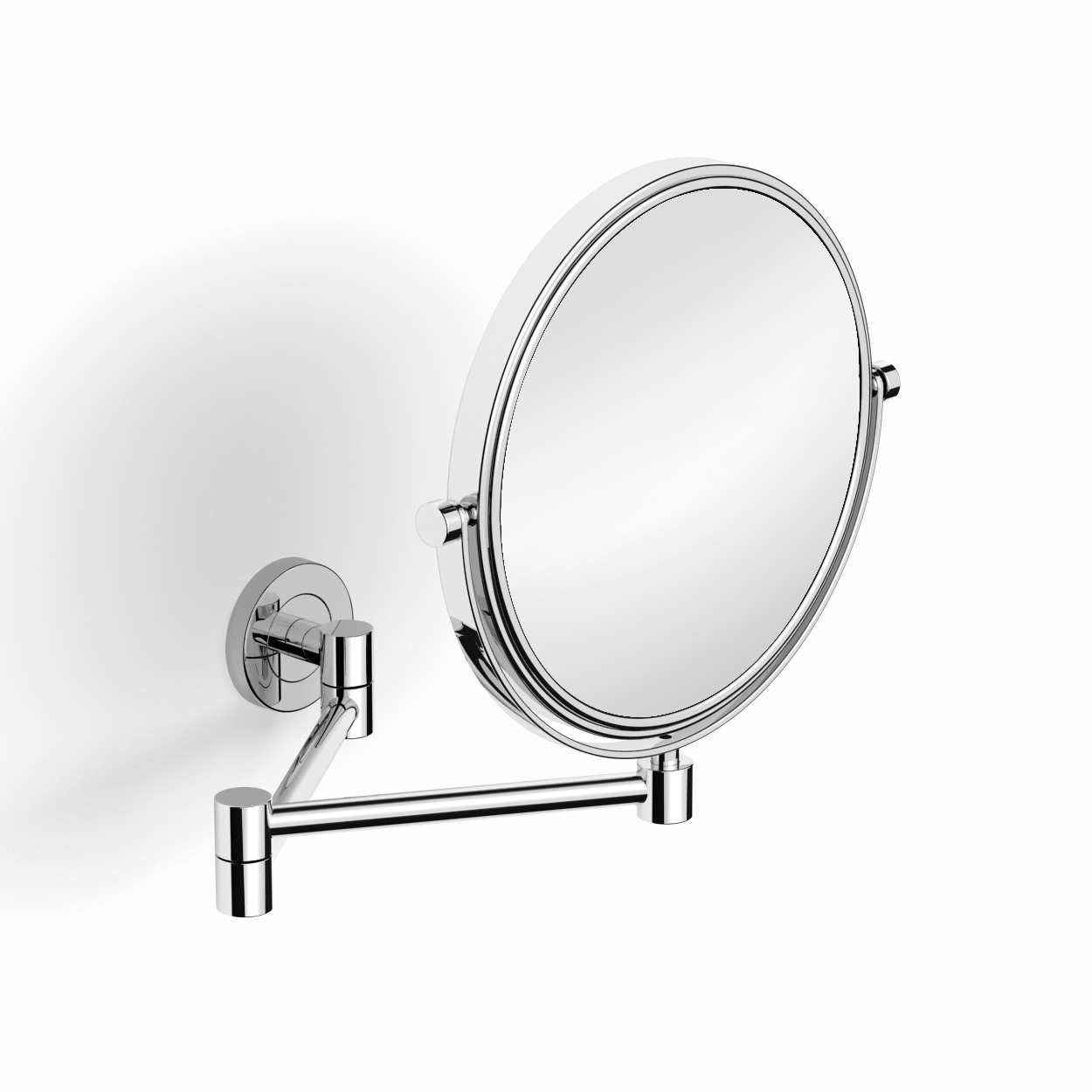 Зеркало косметическое поворотное к стене