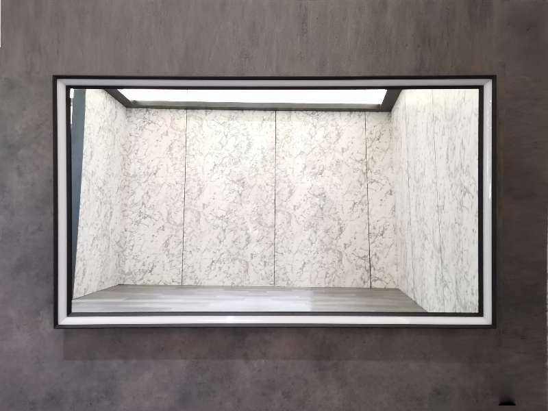 Зеркало со встроенной подсветкой ES-3848KDB. Размер: 100х70х5.