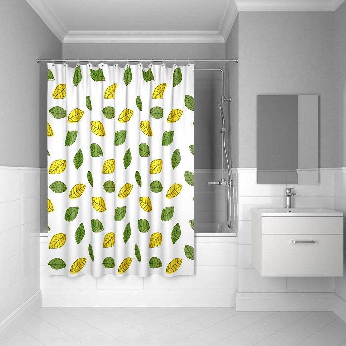 Штора для ванной комнаты IDDIS Leaf 200*240 см bean leaf (200P24RI11)