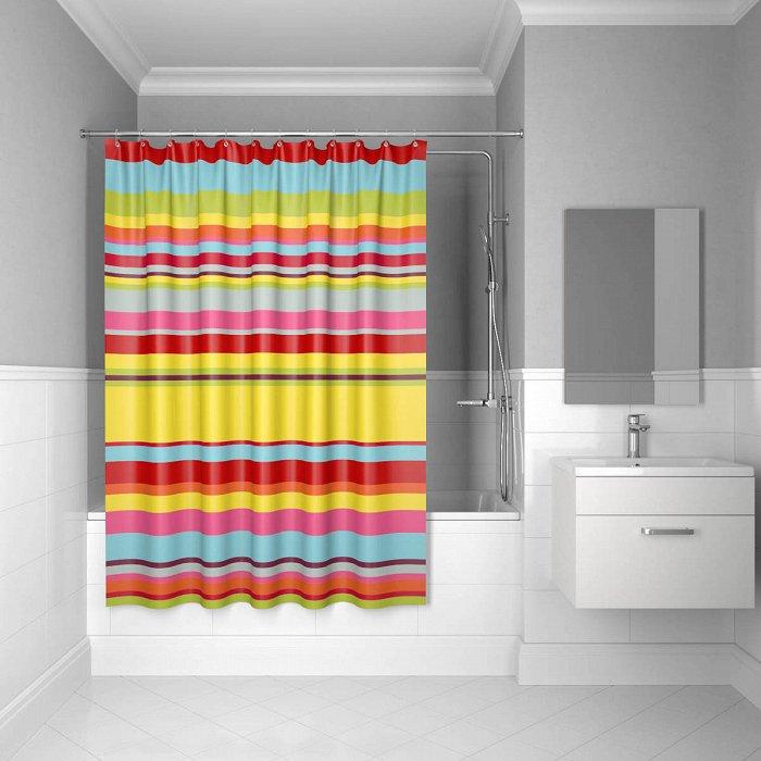 Штора для ванной комнаты IDDIS Summer Stripes 200*240 см summer stripes (290P24RI11)