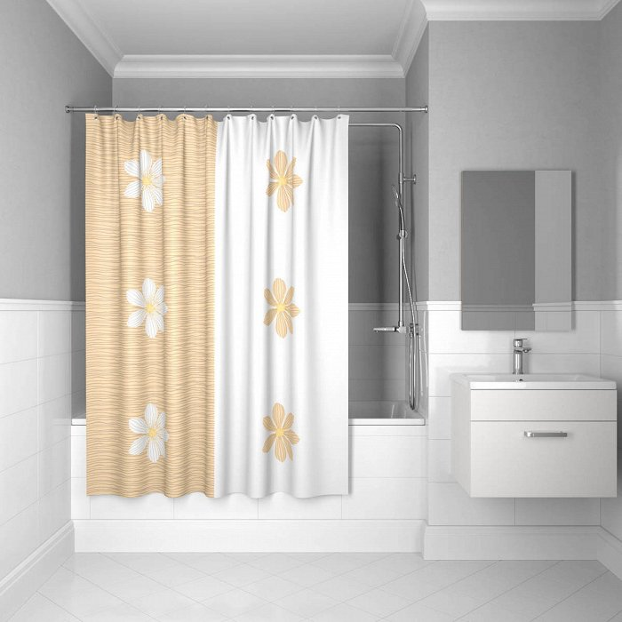 Штора для ванной комнаты IDDIS ART 200*180 см paloma art
