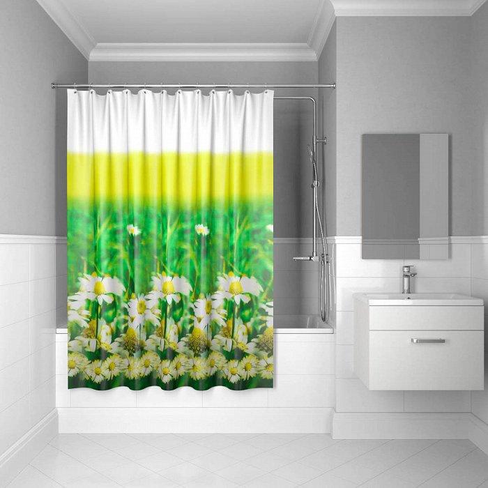 Штора для ванной комнаты IDDIS Daizy Garden 200*200 см daisy garden