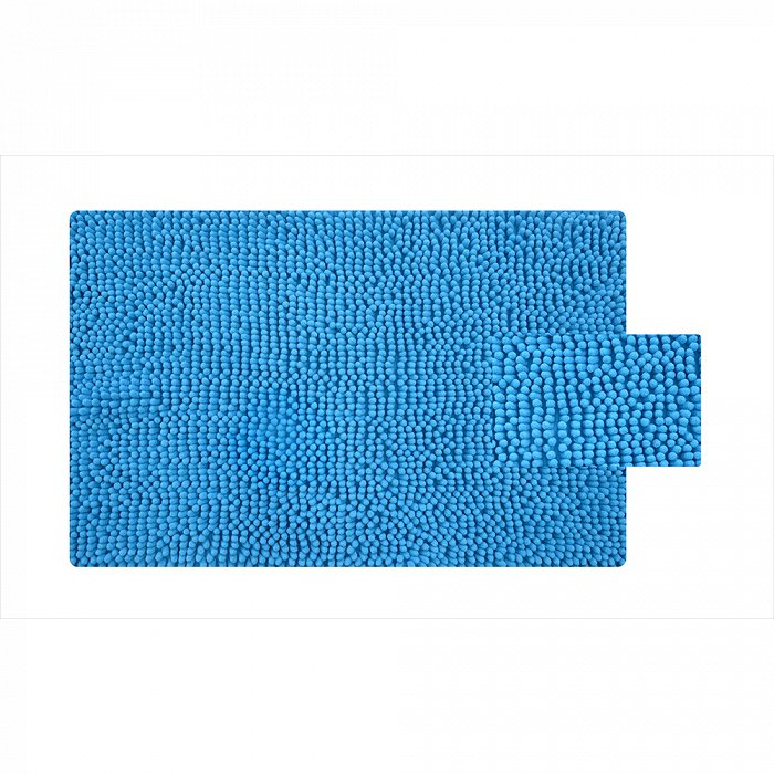 620M580i12, Коврик для ванной комнаты, 50*80 см, микрофибра (шенилл), Blue Heaven, ID